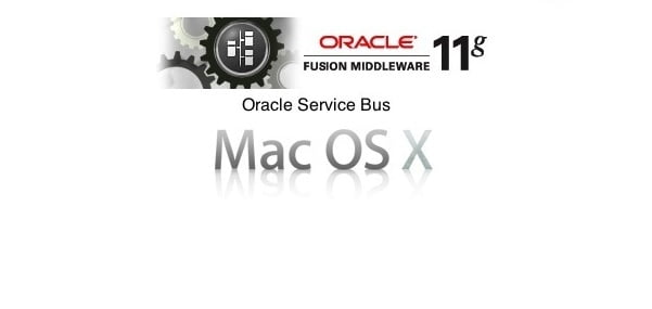 Install OSB 11g on Mac OS X